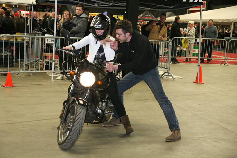 Gratis motorrijles!