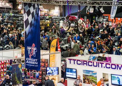 Dé Noordelijke Motorbeurs - Expo Assen:  Gezellig druk
