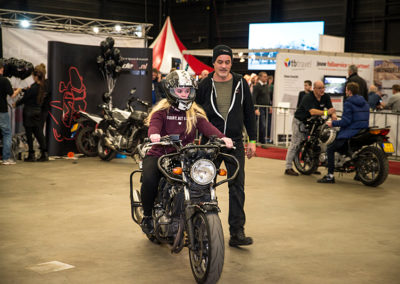Dé Noordelijke Motorbeurs - Expo Assen: 1e rijles onder begeleiding van ervaren instructeur van motorrijschool 1-2Ride