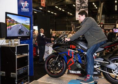 Dé Noordelijke Motorbeurs - Expo Assen: zelf het TT Circuit rijden met de simulator van het TT Circuit Assen