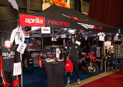 Dé Noordelijke Motorbeurs - Expo Assen: Aprilia racing met mooi aanbod