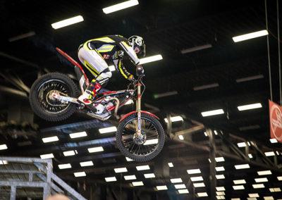 Dé Noordelijke Motorbeurs - Expo Assen: stunts van Alex van de Broek