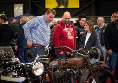 Dé Noordelijke Motorbeurs - Expo Assen:  Klassiekers trekken veel belangstelling