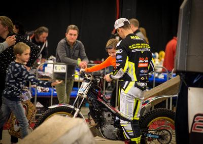 Dé Noordelijke Motorbeurs - Expo Assen: instructie trial door Alex van de Broek