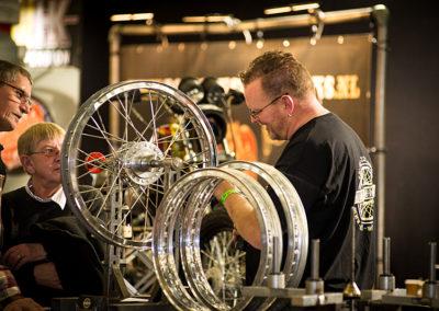Dé Noordelijke Motorbeurs - Expo Assen: techniek, het spaken van wielen