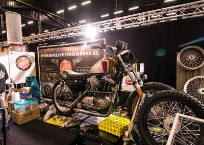 Dé Noordelijke Motorbeurs - Expo Assen:  Custom bikes in mooie uitvoeringen