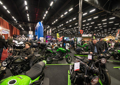 Dé Noordelijke Motorbeurs - Expo Assen:  Nieuwe Kawasaki modellen