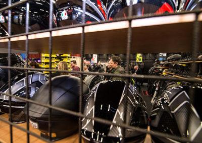 Dé Noordelijke Motorbeurs - Expo Assen:  Groot aanbod helmen en kleding