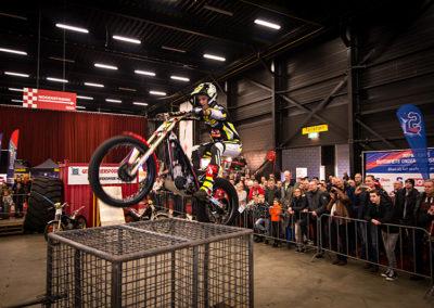 Dé Noordelijke Motorbeurs - Expo Assen:  Show en stunts door Alex van de Broek