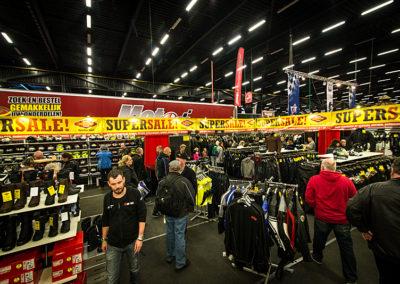 Dé Noordelijke Motorbeurs - Expo Assen:  Hoge kortingen bij Motoport