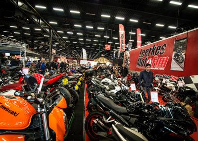 Dé Noordelijke Motorbeurs - Expo Assen:  Veel keuze bij Motorfun Leerkes